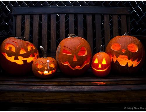 Halloweentocht Sinaai