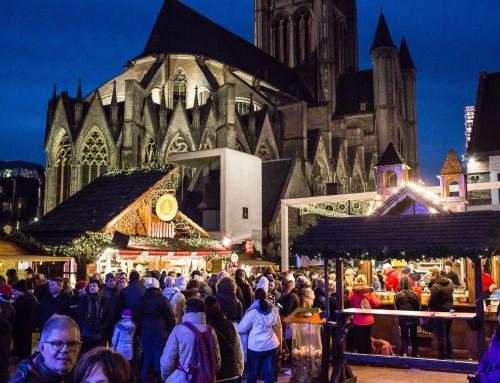 Bezoek aan de kerstmarkt van Gent