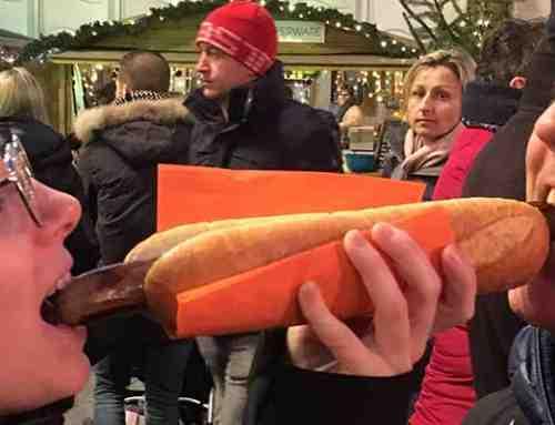 Bezoek aan de kerstmarkt van Belsele