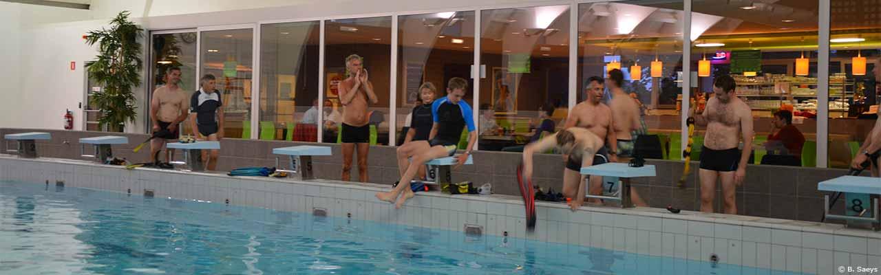 Sinbad - Stedelijk zwembad Sint-Niklaas - wekelijkse training - B. Saeys